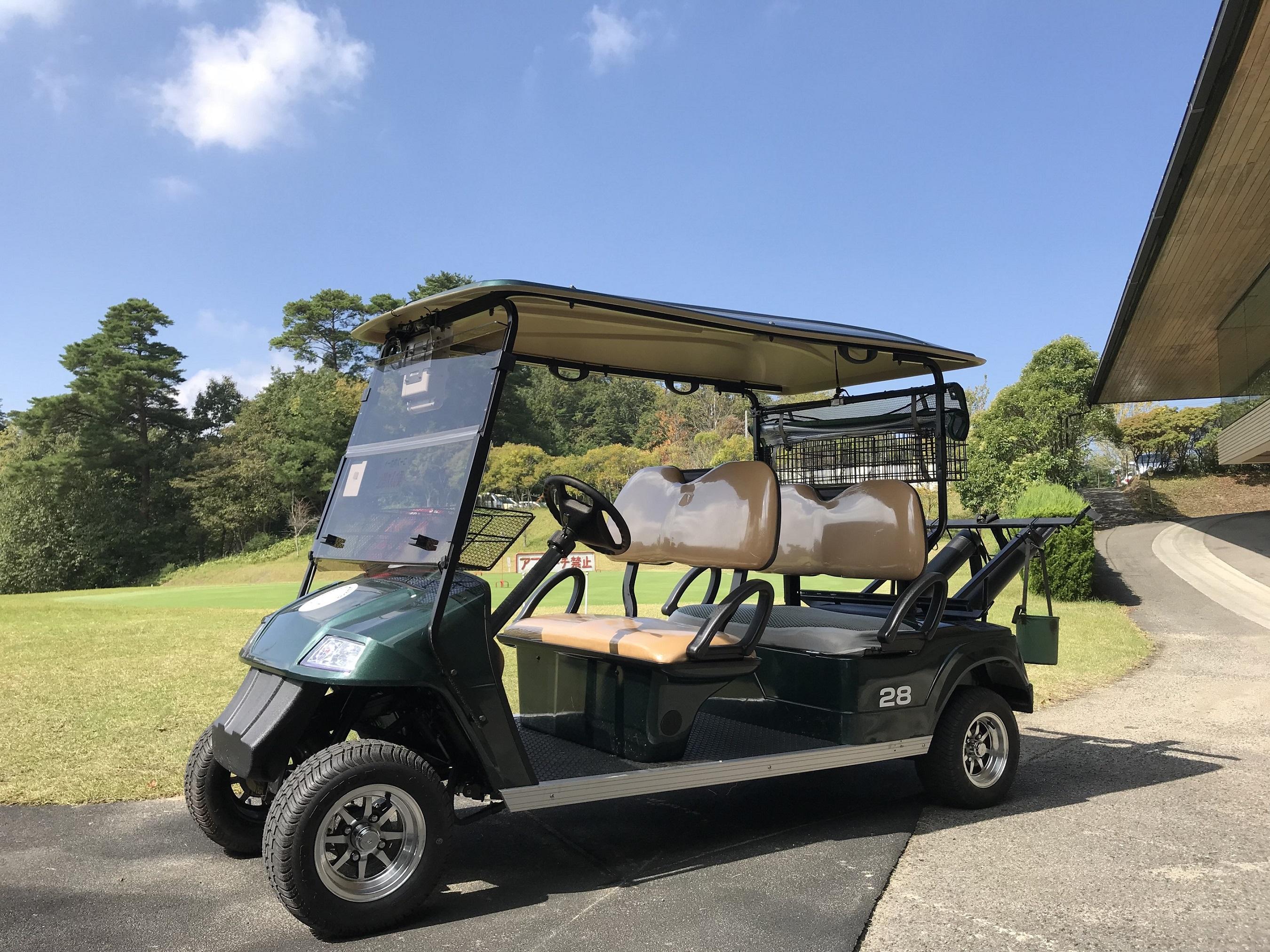 ツネイシCバリューズ販売、EVゴルフカート(5人乗り)
