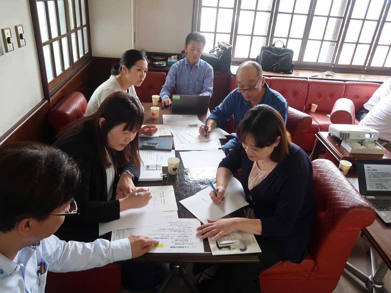ツネイシCバリューズ直売部が、大地震を想定した危機管理研修訓練を実施