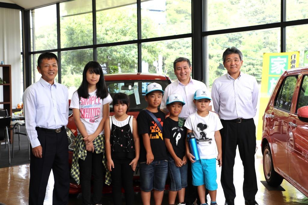 ツネイシCバリューズが子どもの職場参観日を開催